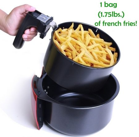airfryer cooking capacity