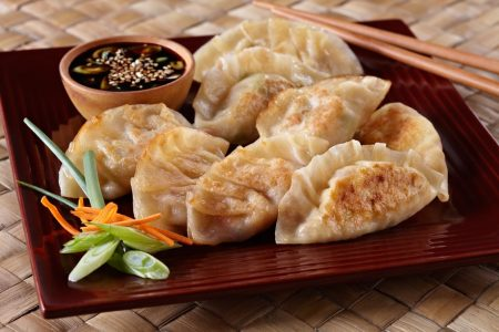 who doesn't love Chinese dumplings