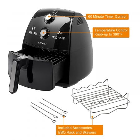 secura 4 liter air fryer